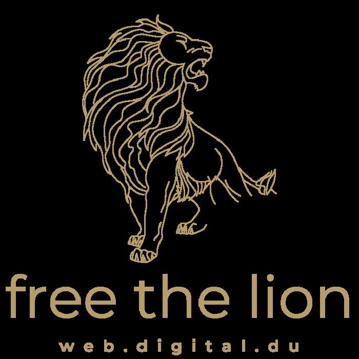 free the lion logo